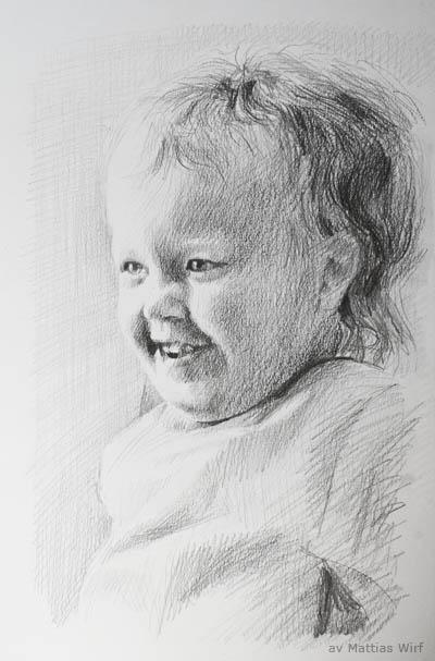 Porträtt av Mathilde