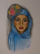 Kvinnan med sjal