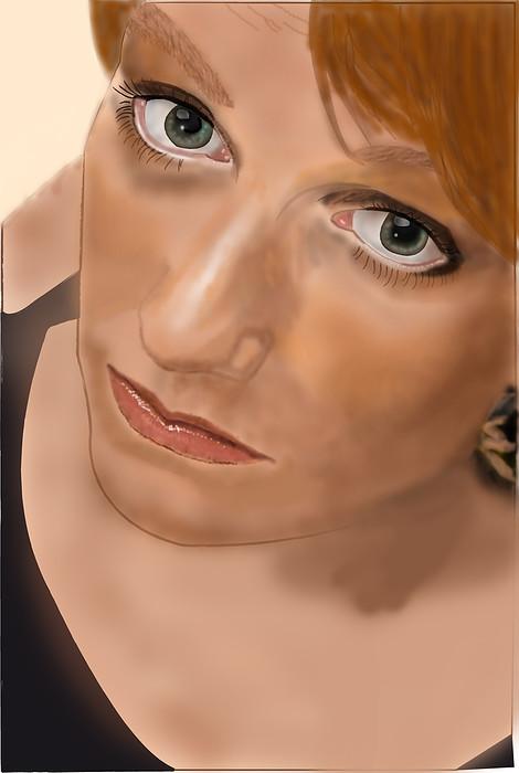 Portrait of Eveline