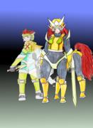 The Iron Medic and Rowina