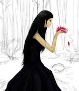 Lady of the lily pond - nästan klar