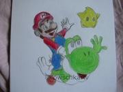 Mario och Yoshi