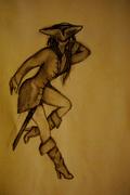 """Kvinnlig """"Jack Sparrow"""" (Jackie Sparrow)"""