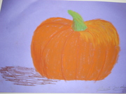 The pumpkin and the purple