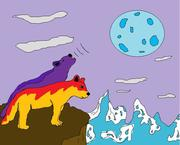 Fantasy Wolves - Roller and LeeMoney