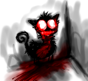 tha halloween cat