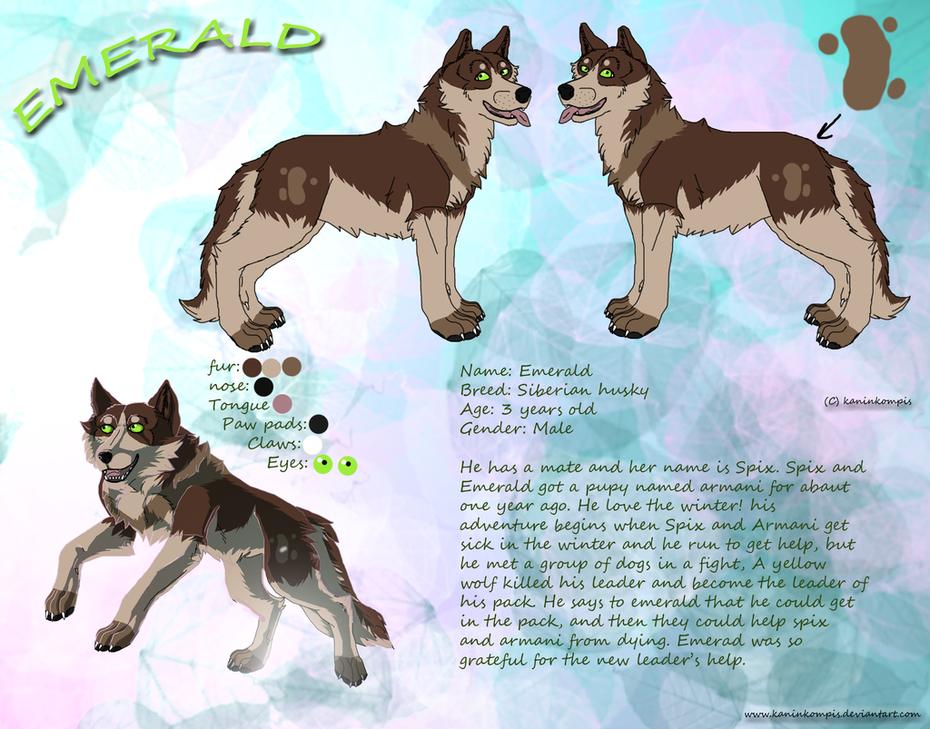 Emerald-character-cheet