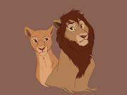 Nala och hennes bror Mheetu :>