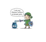 I break pots
