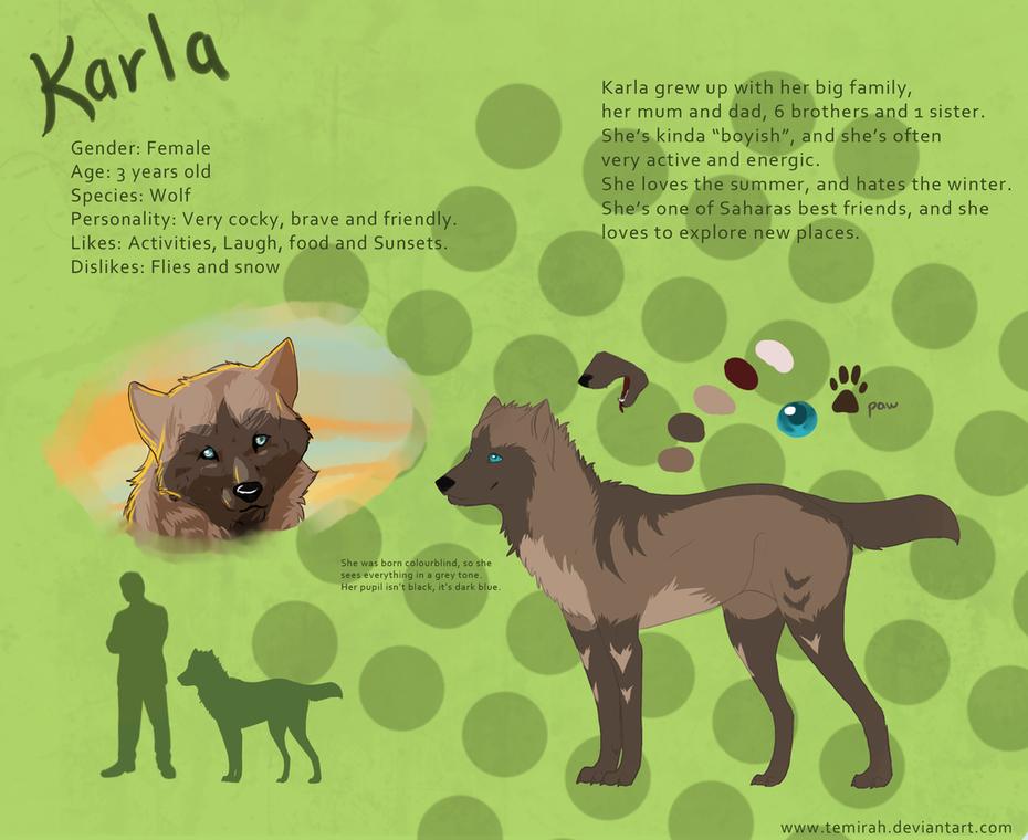 Karla character sheet