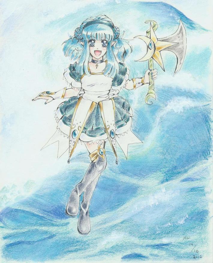 Magical Jade Ocean