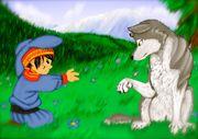 Pojken och vargen