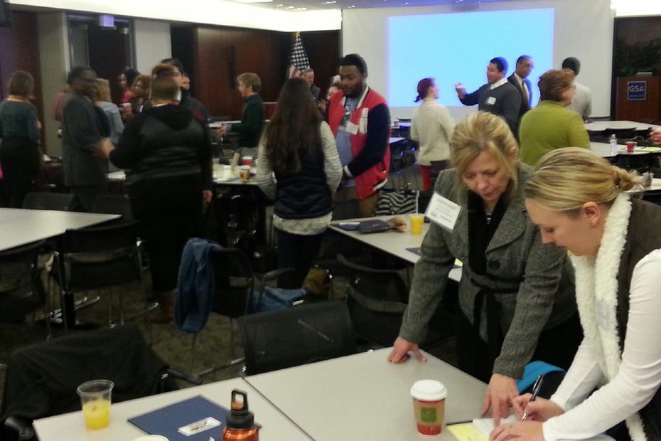 Networking at Nov. 14 T/M Conf