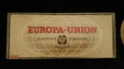 Europa box. German? Looks old.