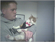 travis and cat