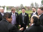 Groomsmen at Jonathan & Alysa's Wedding May 3, 2008