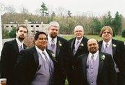 The Crew at Jonathan's wedding.  May 3, 2008