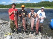 King Salmon Fishing Trip