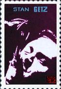 A stamp with Stan Getz portrait???