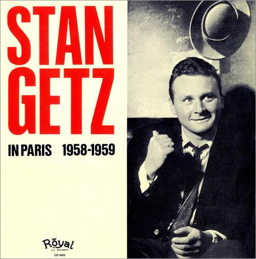 Stan Getz in Paris 1958-1959