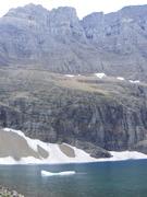 Floating Iceberg in Iceberg Lake