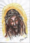 The Christ - Work of art by Elisabetta Errani Emaldi