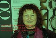 """Elisabetta at the festival of the Cinema in Turin. - The photo was made from the journalist and photo reporter   Antonio Chiarenza  - Newspaper:  """"Notiziefoto"""" - 13 November 2009"""