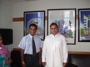 Meeting with Senator