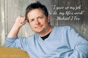 sign Michael J Fox