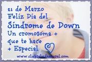 Día del Síndrome de Down