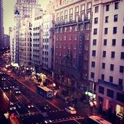 Calle Gran Vía de Madrid
