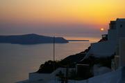 One evening on Santorini