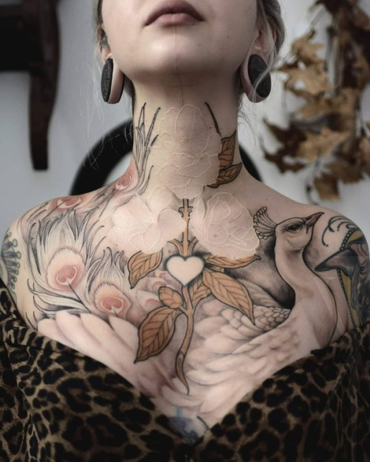 Image result for sacred adornment tattoo breast