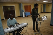 Me & Trevor playing at ABCSI Launch 2