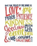 Fruit of the Spirit colors