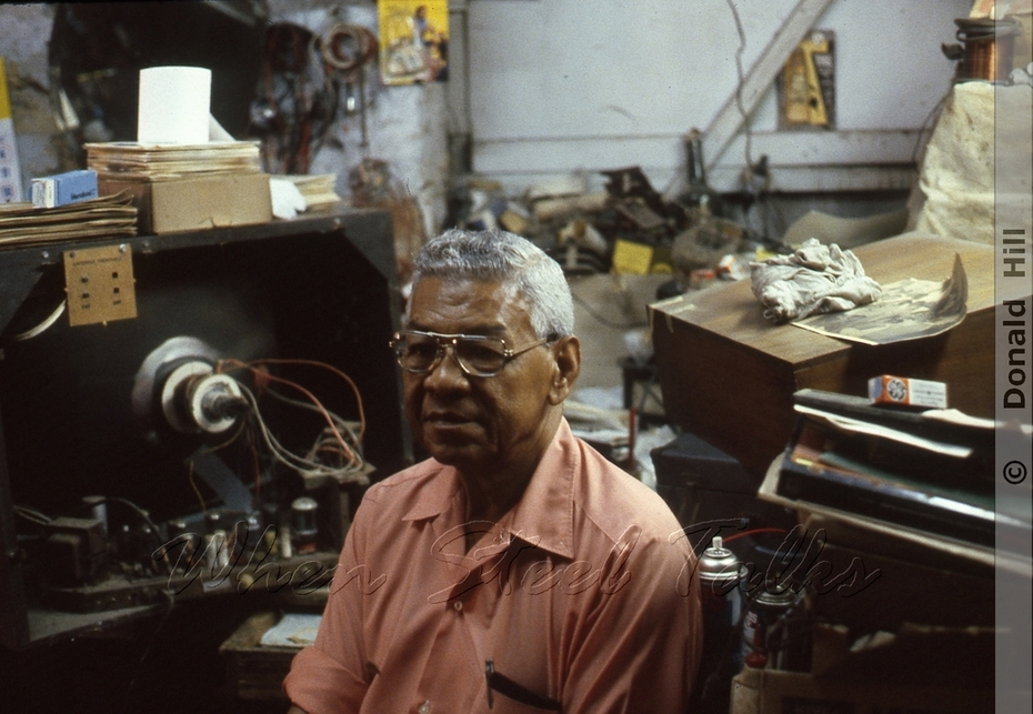 Aubrey Bolo Christopher - Historical Studio in Trinidad