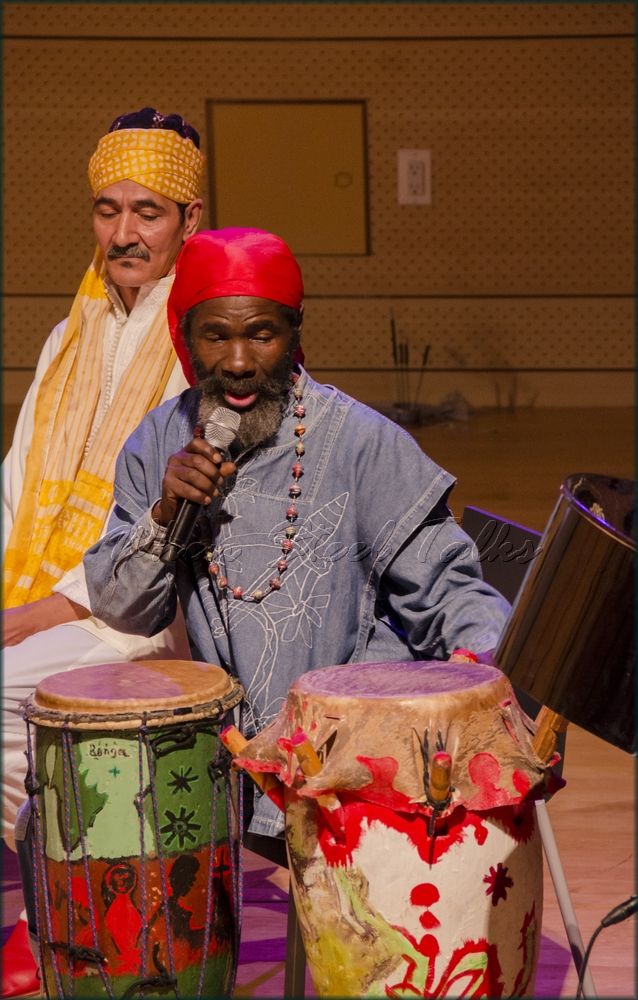 """Bonga (Haiti), Afro-Haitian drums - from: """"Randy Weston presents Symposium in the Drum - From Africa to the New World"""""""