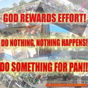 GOD Rewards Effort!