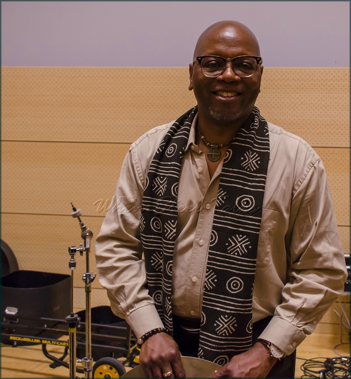 """Lewis Nash (U.S.), drumset, moderator - from: """"Randy Weston presents Symposium in the Drum - From Africa to the New World"""""""