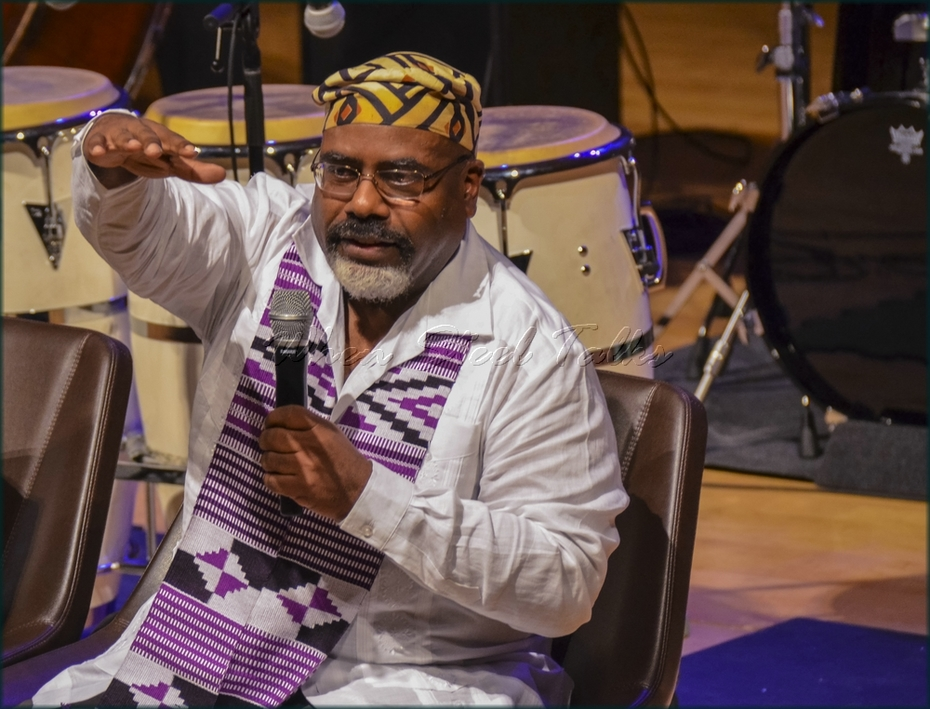 """Discussion with Dr. Joseph Gaines from: """"Randy Weston presents Symposium in the Drum - From Africa to the New World"""""""