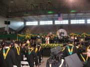 En la graduacion
