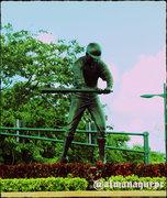 Escultura de Roberto Clemente, Carolina