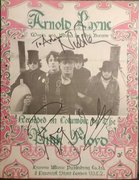 Nick Mason and Roger Waters signed Arnold Layne sheet music