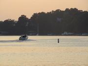 Sunset on the Severn, near Annapolis