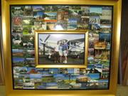 Usher Postcard Frame