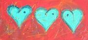 Three Blue Hearts