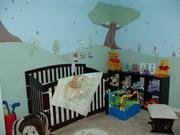 Decoration of room for children