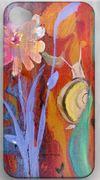 snail I phone 4 case by Robin Maria Pedrero