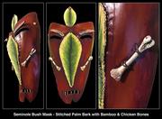 Seminole Indian Tribal Mask