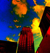 Buildings Downtown orlando-Color Study